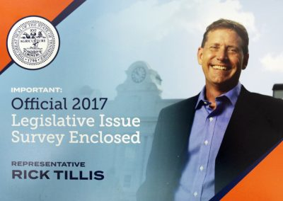 Rick Tillis - Legislative Issue Survey