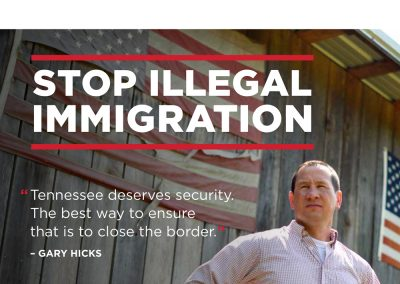 rjd group - Political - Gary Hicks - Stop Illegal Immigration - Mail