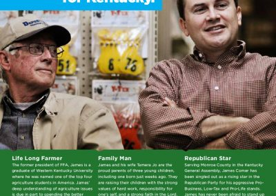 rjd group - Political - James R Comer - The Right Republican for Kentucky - Mail