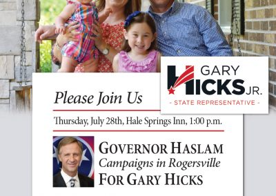 rjd group - Political - Gary Hicks Jr. - Please Join Us - Newspaper