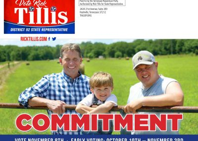 rjd group - Political - Rick Tillis - Commitment - Mail